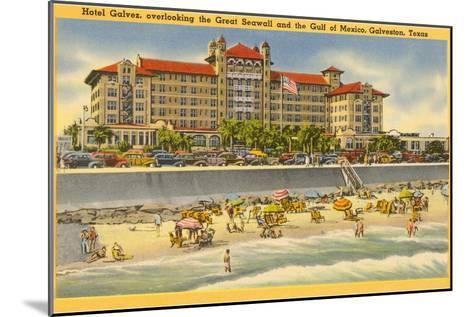 Hotel Galvez, Galveston, Texas--Mounted Art Print
