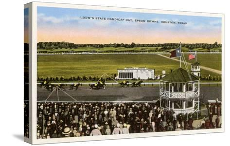 Epsom Downs Racetrack, Houston, Texas--Stretched Canvas Print
