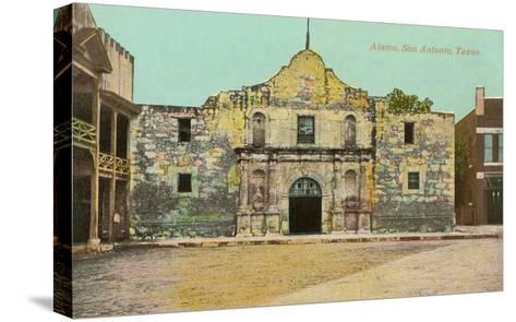 Alamo, San Antonio, Texas--Stretched Canvas Print