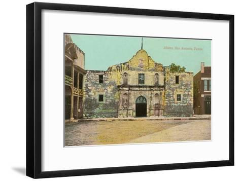 Alamo, San Antonio, Texas--Framed Art Print