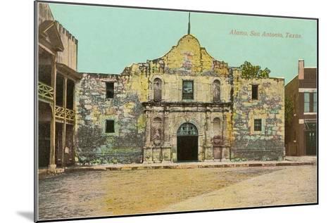 Alamo, San Antonio, Texas--Mounted Art Print