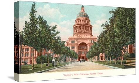 Capitol Building at Austin, Texas--Stretched Canvas Print