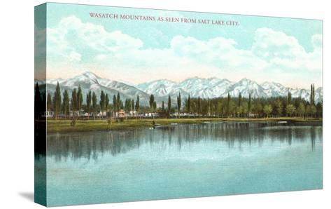 Lake View, Utah--Stretched Canvas Print
