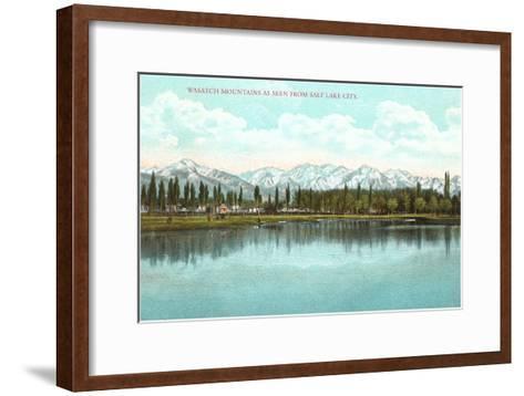 Lake View, Utah--Framed Art Print