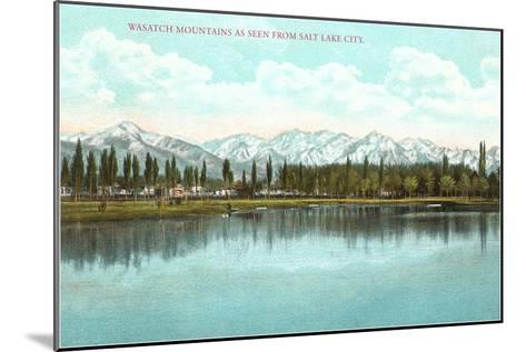 Lake View, Utah--Mounted Art Print