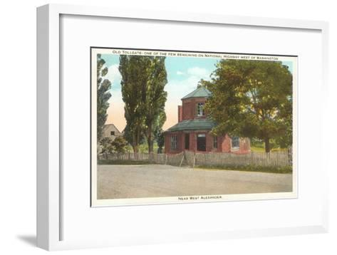Old Tollgate, Alexandria, Virginia--Framed Art Print