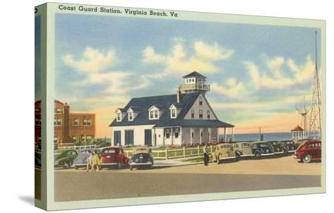 Coast Guard Station, Virginia Beach, Virginia--Stretched Canvas Print
