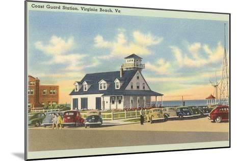 Coast Guard Station, Virginia Beach, Virginia--Mounted Art Print