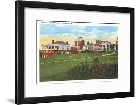 Virginia Country Club, Richmond, Virginia--Framed Art Print