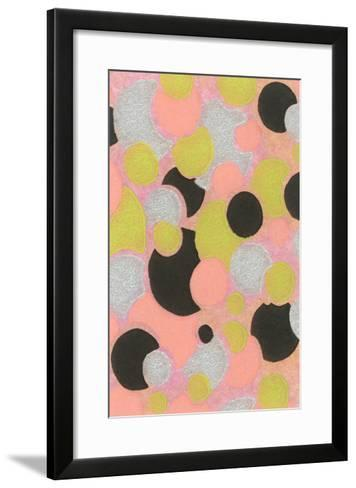 Vintage Paper, Abstract Pattern--Framed Art Print