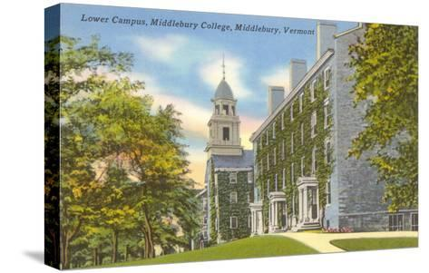 Middlebury College, Middlebury, Vermont--Stretched Canvas Print