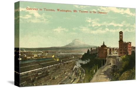 Gateway to Tacoma, Washington--Stretched Canvas Print