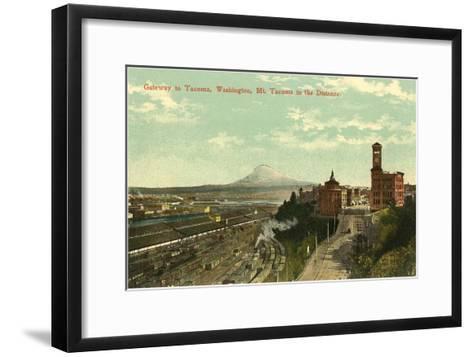 Gateway to Tacoma, Washington--Framed Art Print