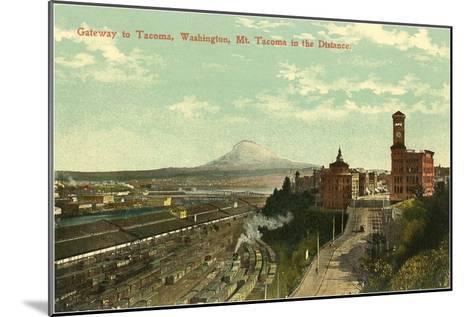 Gateway to Tacoma, Washington--Mounted Art Print