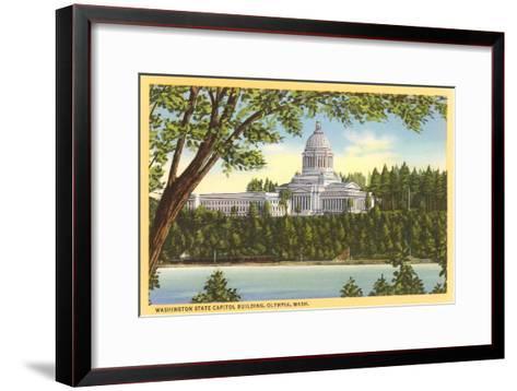 State Capitol, Olympia, Washington--Framed Art Print
