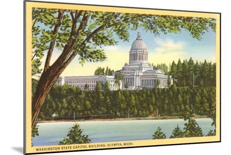 State Capitol, Olympia, Washington--Mounted Art Print
