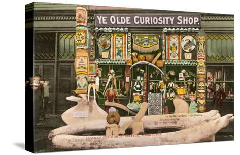 Ye Olde Curiosity Shop, Seattle, Washington--Stretched Canvas Print