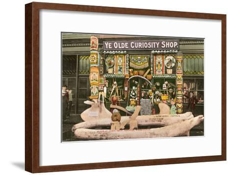 Ye Olde Curiosity Shop, Seattle, Washington--Framed Art Print