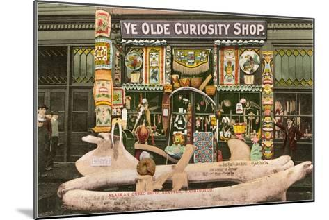 Ye Olde Curiosity Shop, Seattle, Washington--Mounted Art Print