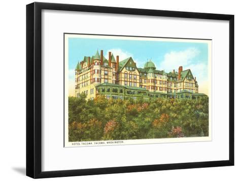 Hotel Tacoma, Tacoma, Washington--Framed Art Print