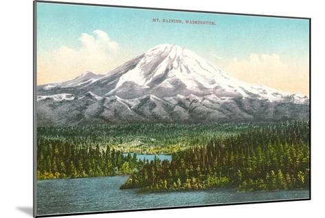 Mt. Rainier, Washington--Mounted Art Print