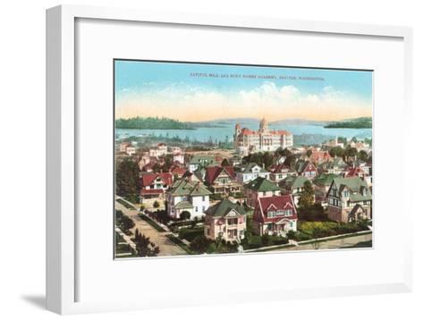 Holy Names Academy, Seattle, Washington--Framed Art Print
