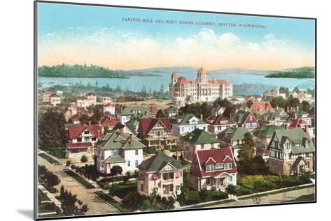 Holy Names Academy, Seattle, Washington--Mounted Art Print