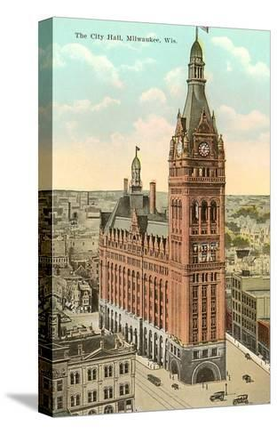 City Hall, Milwaukee, Wisconsin--Stretched Canvas Print