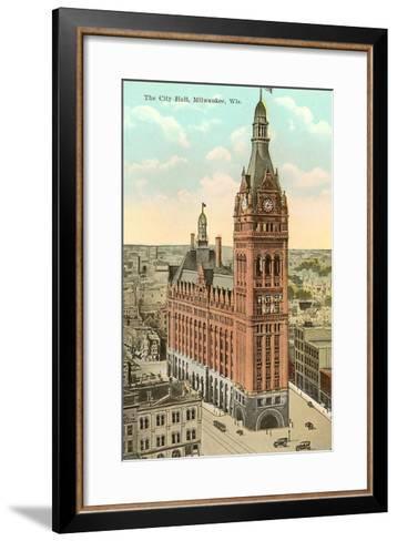 City Hall, Milwaukee, Wisconsin--Framed Art Print