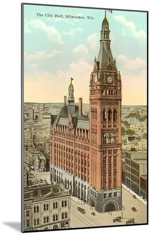 City Hall, Milwaukee, Wisconsin--Mounted Art Print