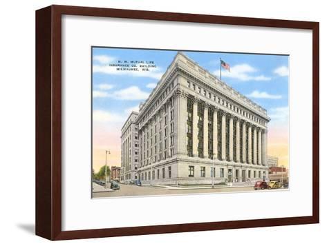 Mutual Life Building, Milwaukee, Wisconsin--Framed Art Print