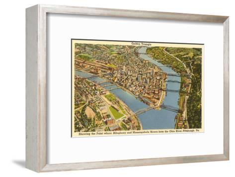 Downtown Pittsburgh, Pennsylvania--Framed Art Print
