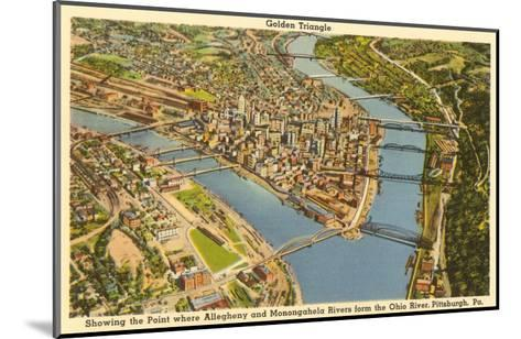 Downtown Pittsburgh, Pennsylvania--Mounted Art Print