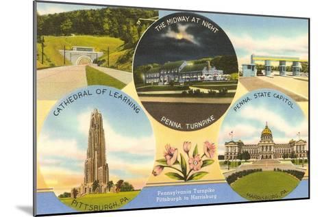 Views of Western Pennsylvania--Mounted Art Print