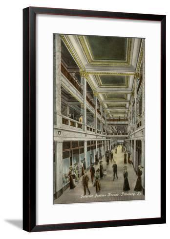 Interior, Jenkins Arcade, Pittsburgh, Pennsylvania--Framed Art Print