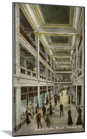 Interior, Jenkins Arcade, Pittsburgh, Pennsylvania--Mounted Art Print