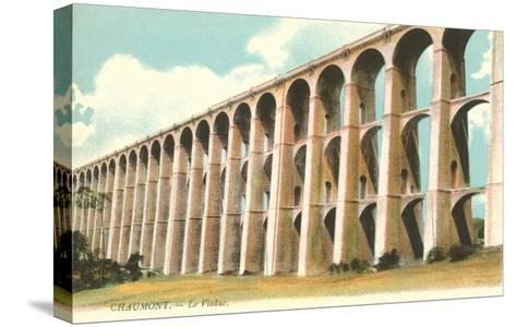 Viaduct in Chaumont, France--Stretched Canvas Print