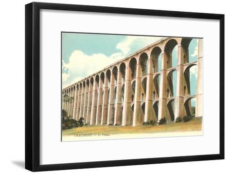 Viaduct in Chaumont, France--Framed Art Print