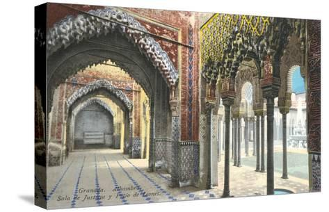 Hall of Justice, Alhambra, Granada, Spain--Stretched Canvas Print