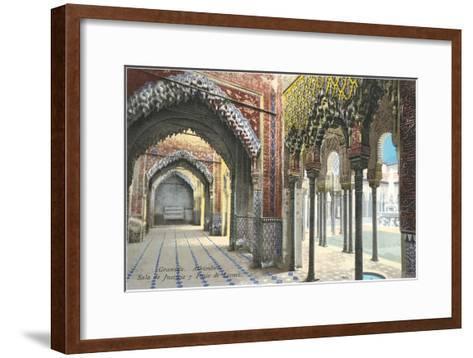 Hall of Justice, Alhambra, Granada, Spain--Framed Art Print