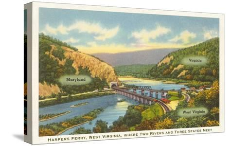 Harper's Ferry, West Virginia--Stretched Canvas Print