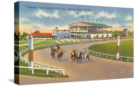 Racetrack, Charles Town, West Virginia--Stretched Canvas Print