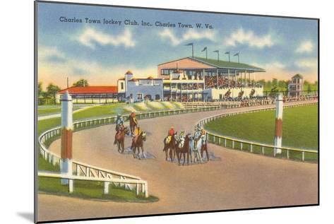 Racetrack, Charles Town, West Virginia--Mounted Art Print