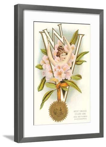 West Virginia Belle--Framed Art Print