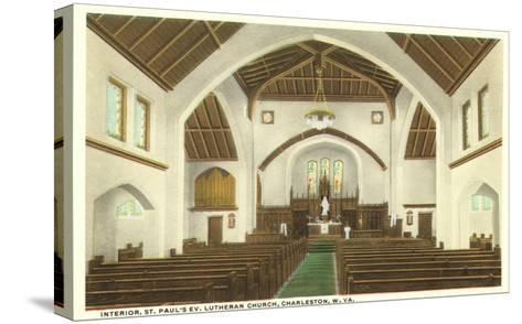 Interior, St. Paul's Church, Charleston, West Virginia--Stretched Canvas Print