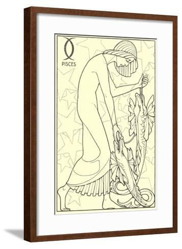 Pisces, the Fishes--Framed Art Print