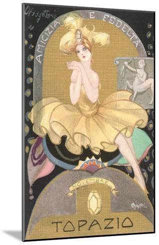Italian Month Signs, November--Mounted Art Print
