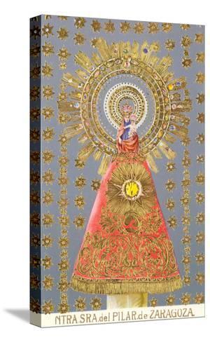 Nuestra Senora del Pilar de Zaragoza, Virgin Icon--Stretched Canvas Print
