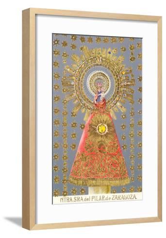 Nuestra Senora del Pilar de Zaragoza, Virgin Icon--Framed Art Print