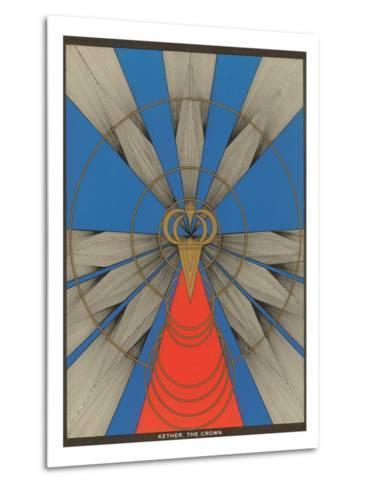 Geometric Representation of Kether, the Crown--Metal Print